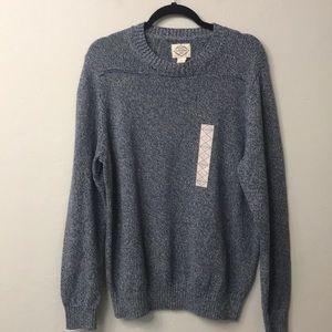 Men's St. John's Bay blue sweater size XL